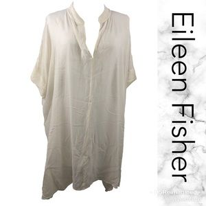 100% silk oversized tunic  (3-T)